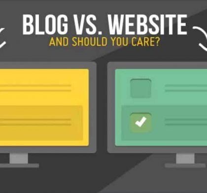 4 Differences between Websites and A Blog
